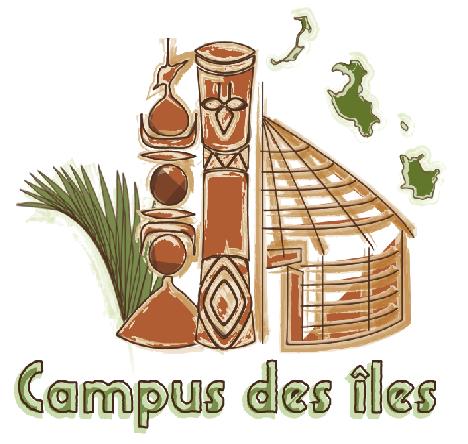 Logo campus des îles
